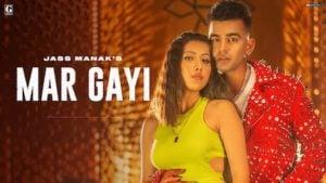 Mar Gayi Lyrics in English – Jass Manak