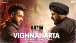 Vighnaharta Lyrics Meaning in English – Antim   Salman Khan